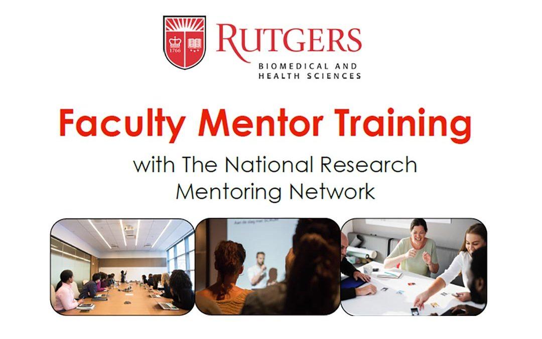 Faculty Mentor Training Workshop